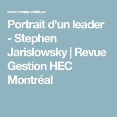 Stephen Jarislowsky