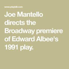 Joe Mantello