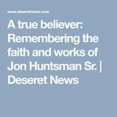 Jon Huntsman, Sr.